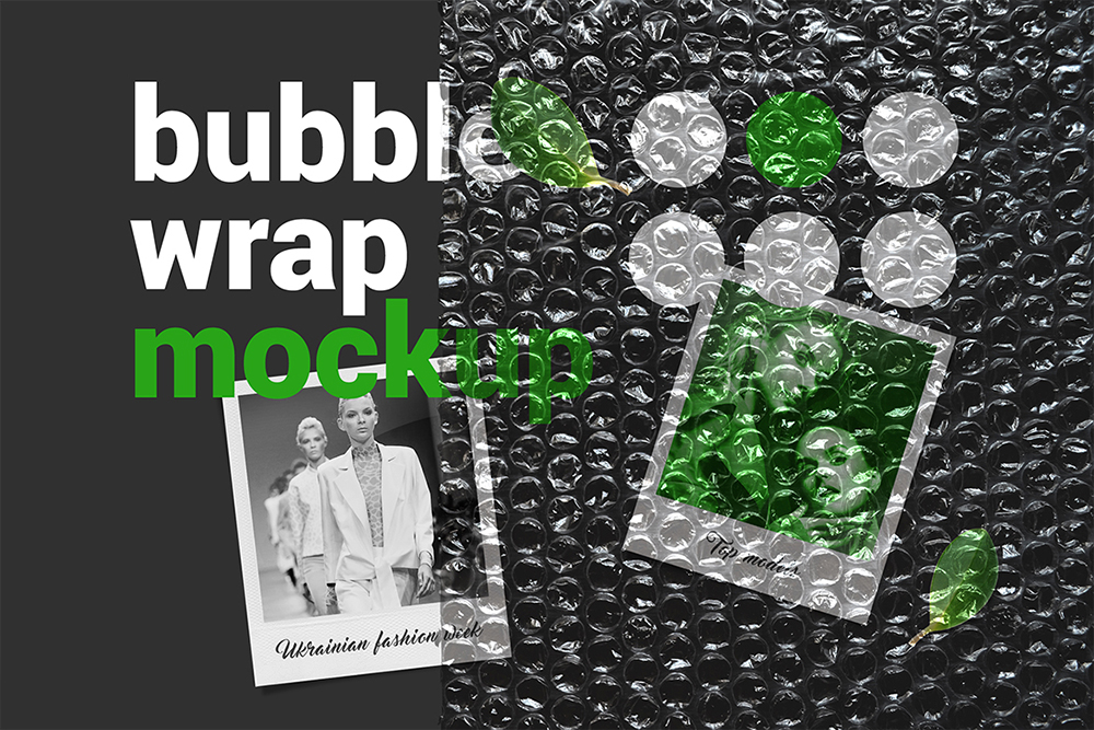 Bubble Wrap Mockup example image 3