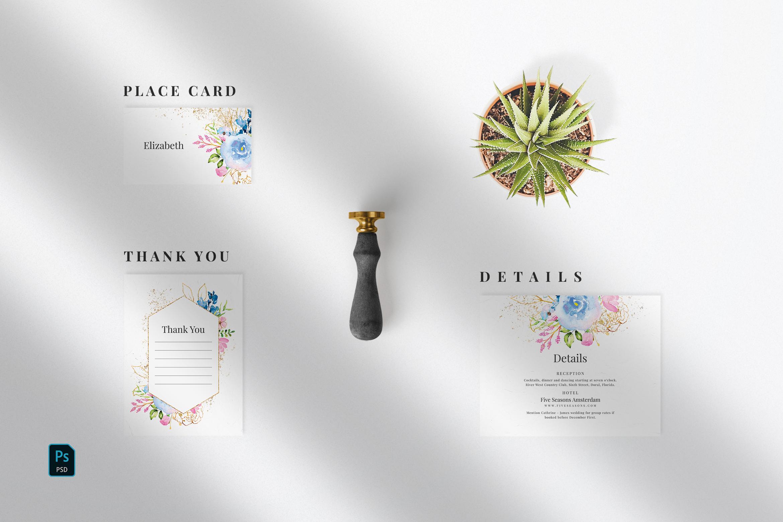 Wedding Invitation Suite - Delicate example image 4
