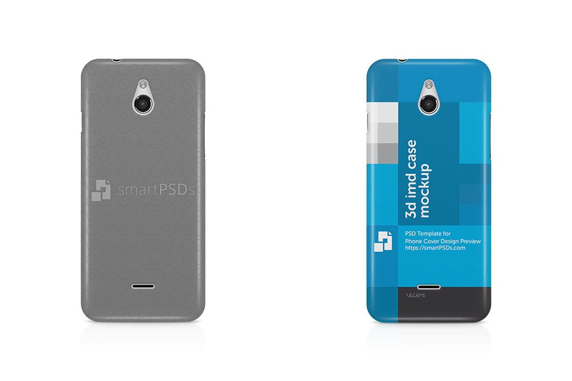 InFocus M2 3d IMD Mobile Case Design Mockup 2015 example image 1