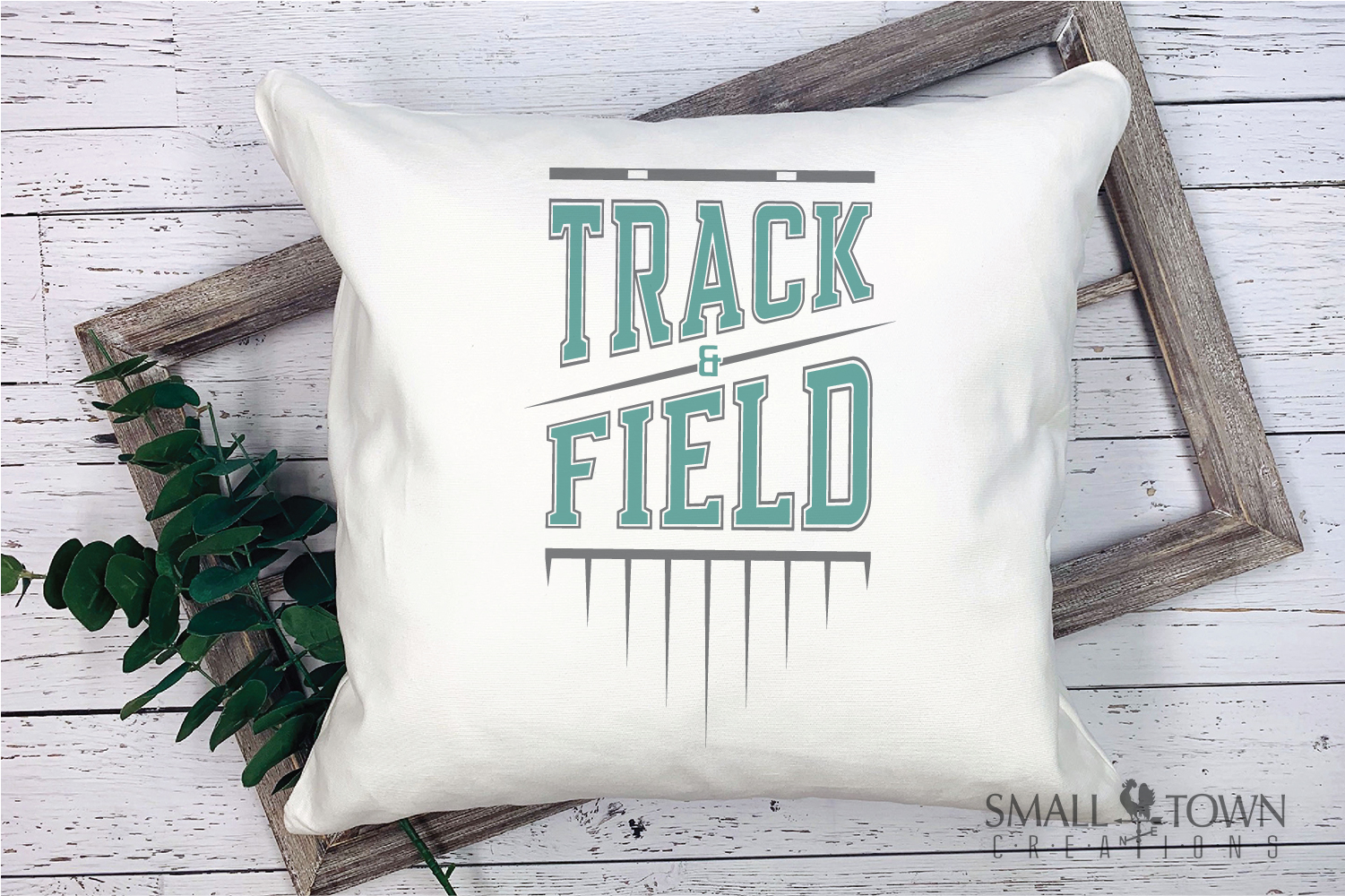 Track & Field, Track Team, Sport, Logo, PRINT, CUT & DESIGN example image 3
