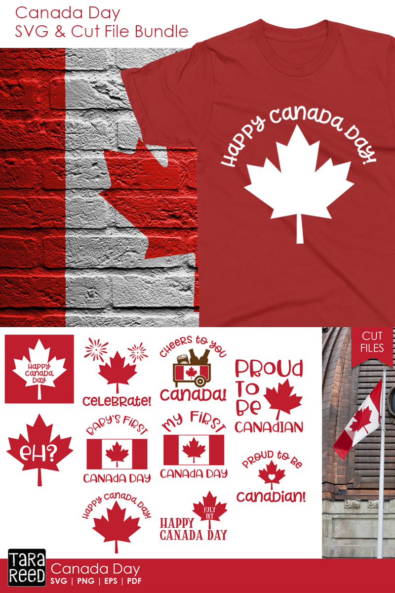 Canada Day - Canadian SVG and Cut Files for Crafters example image 2