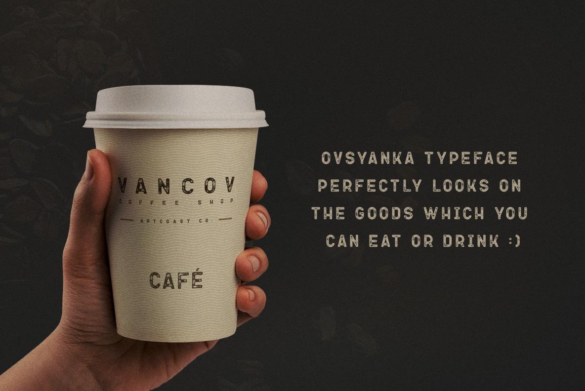 Ovsyanka Typeface example image 6