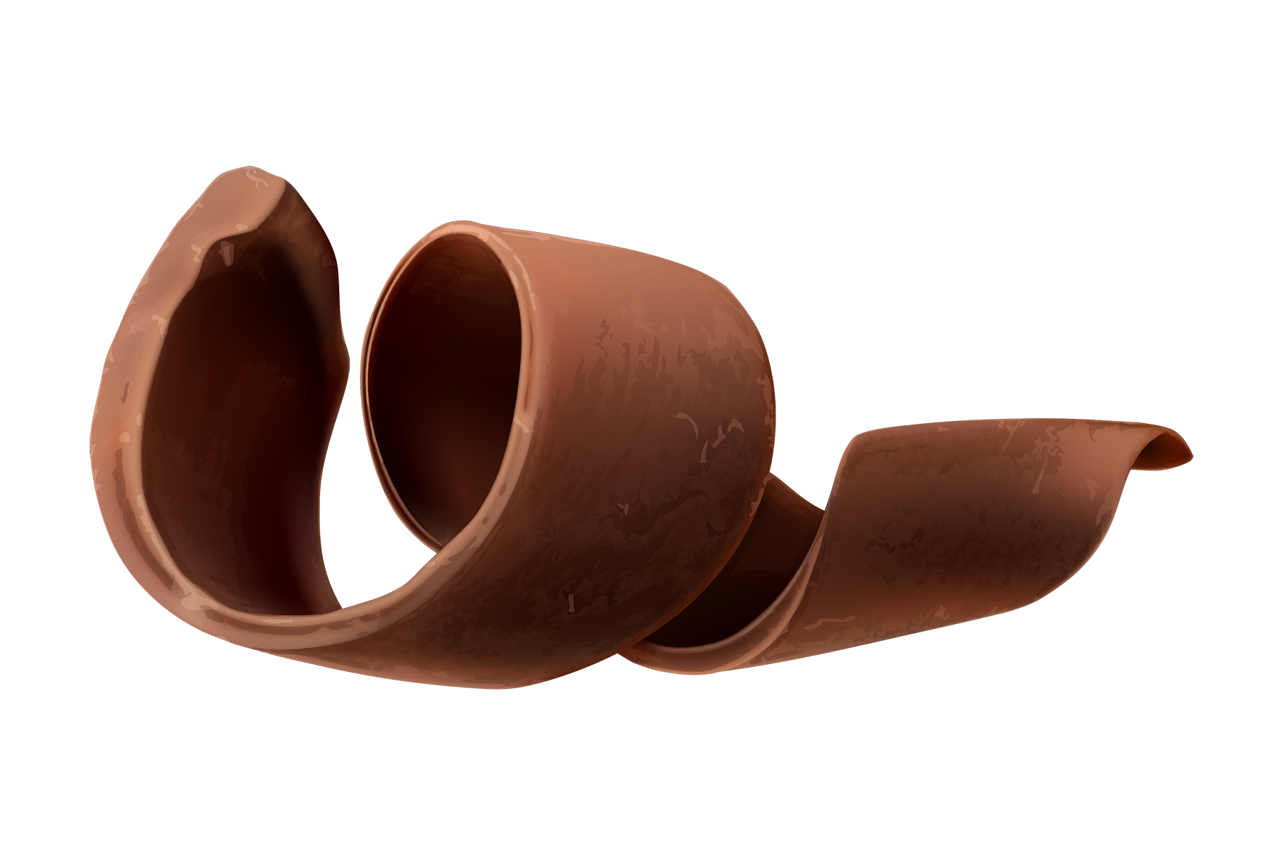 Chocolate bar, chocolate shavings, pieces, cocoa, vector set example image 5