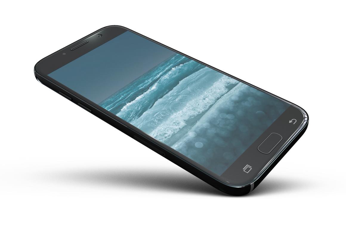 Samsung Galaxy A7 Mockup example image 12