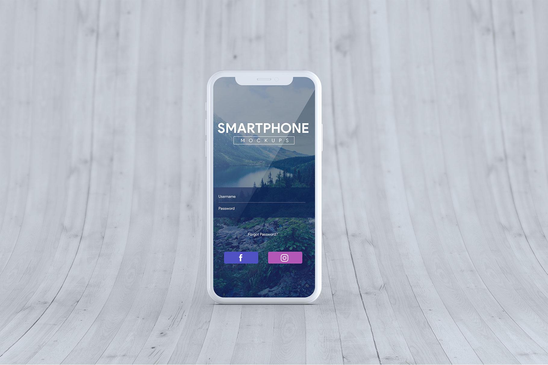 Smartphone Mock-Ups example image 11