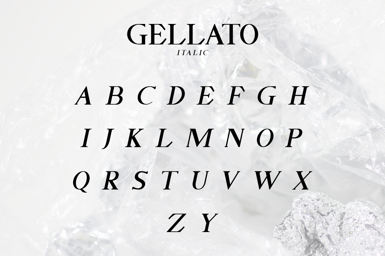 GELLATO // Modern Serif example image 3