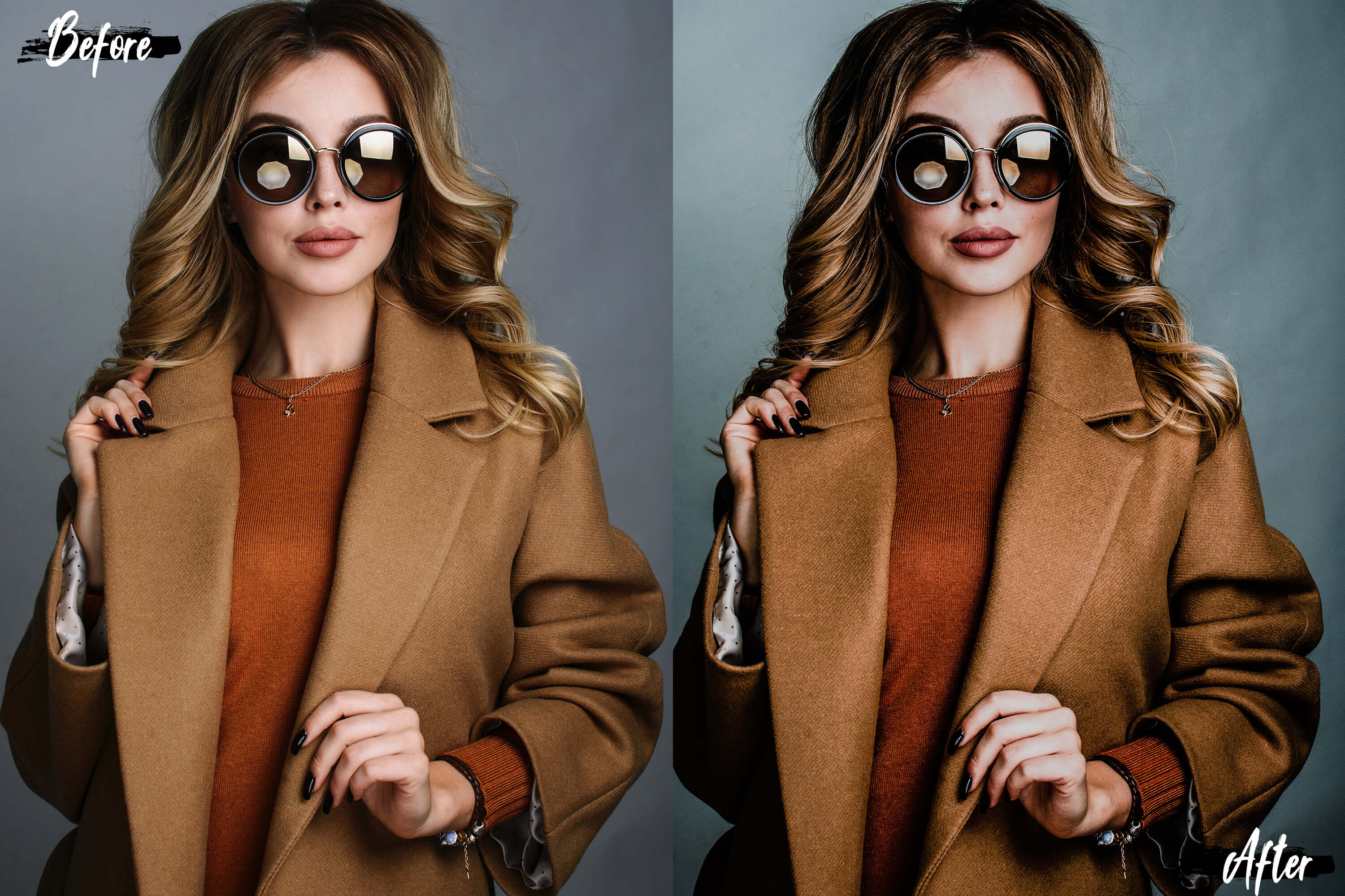 5 Hot chocolate Photoshop Actions, ACR and LUT presets example image 8