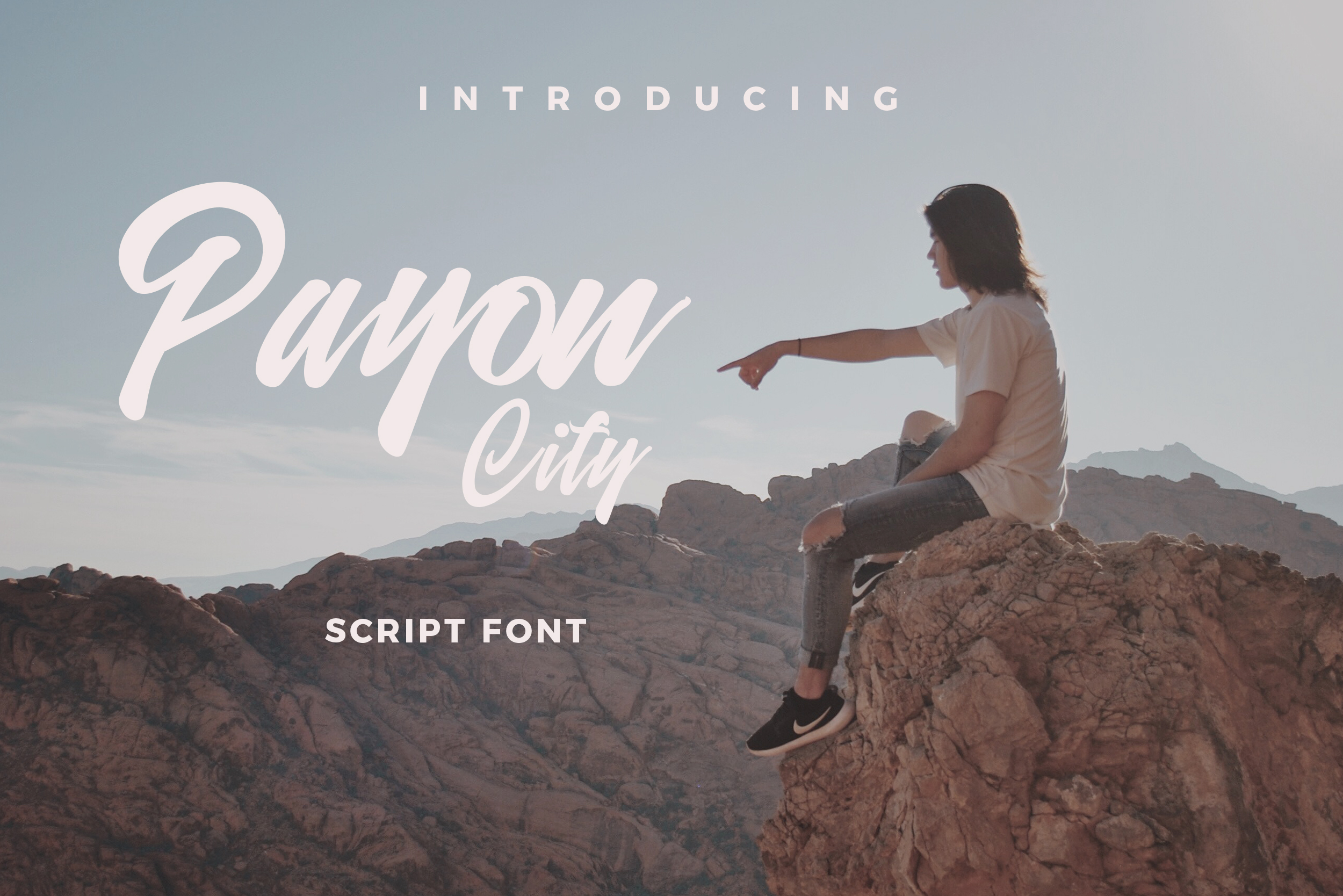Payon City Typeface example image 1