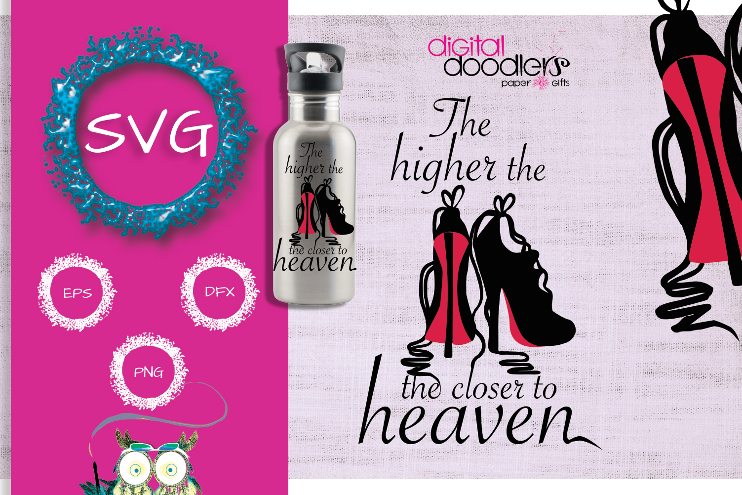 The Higher the Heels the Closer to Heaven example image 1