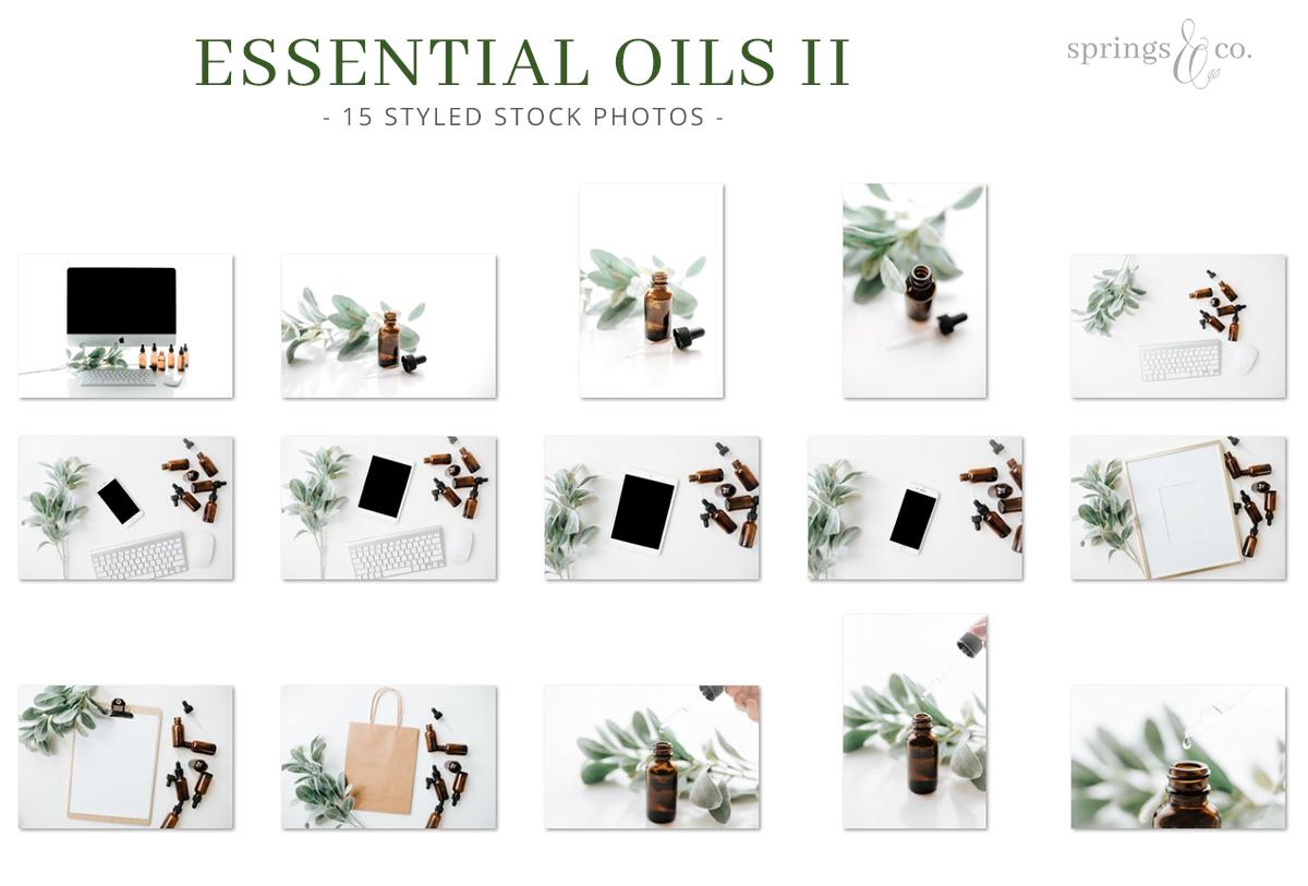 Essential Oils II Stock Photo Bundle example image 2