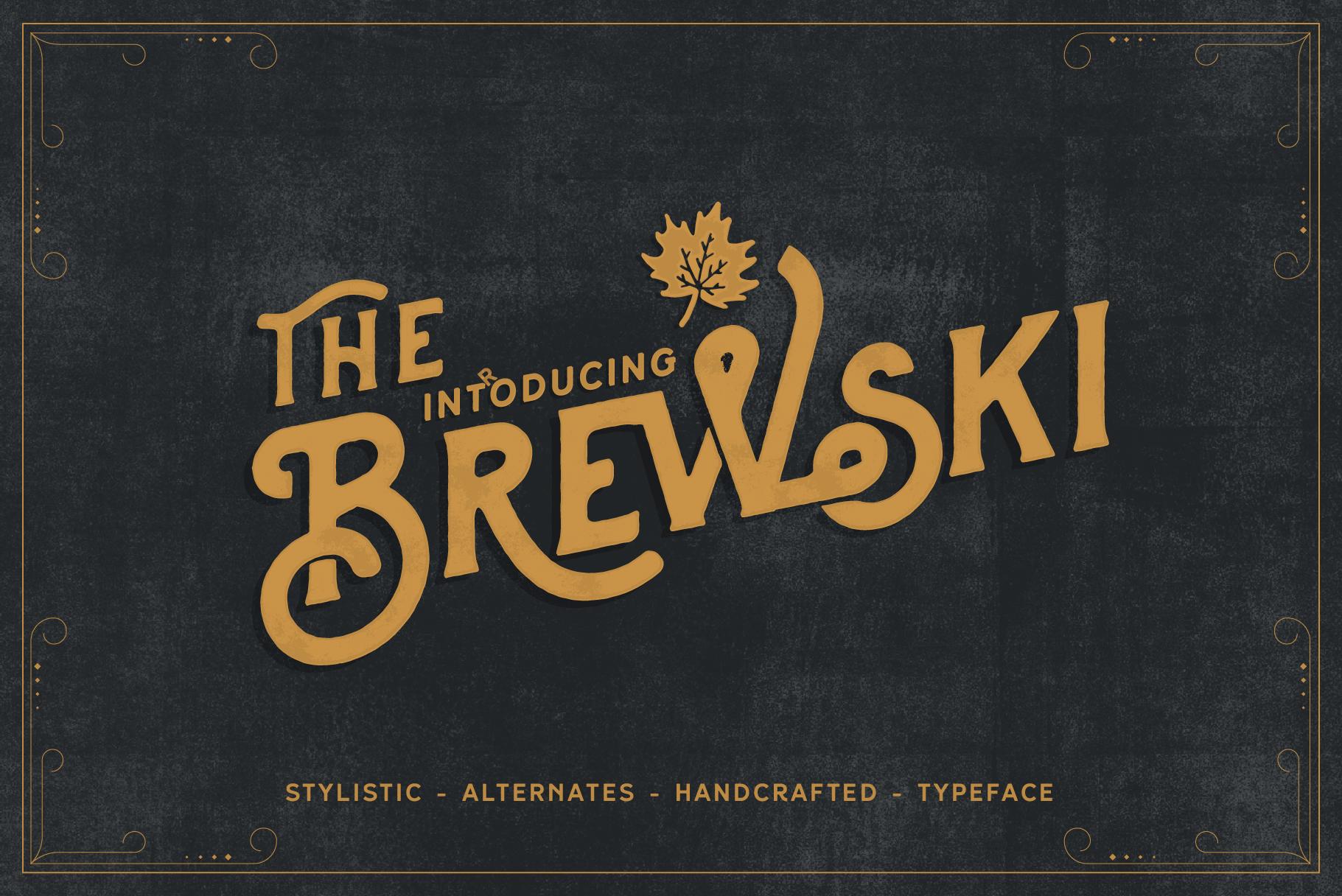Brewski - Brewery Typeface example image 3