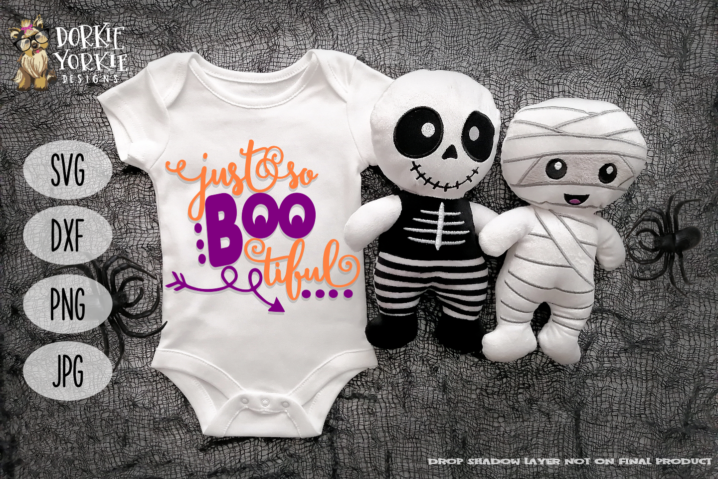 Just so boo tiful - Halloween - arrow- SVG Cut file - kid example image 1