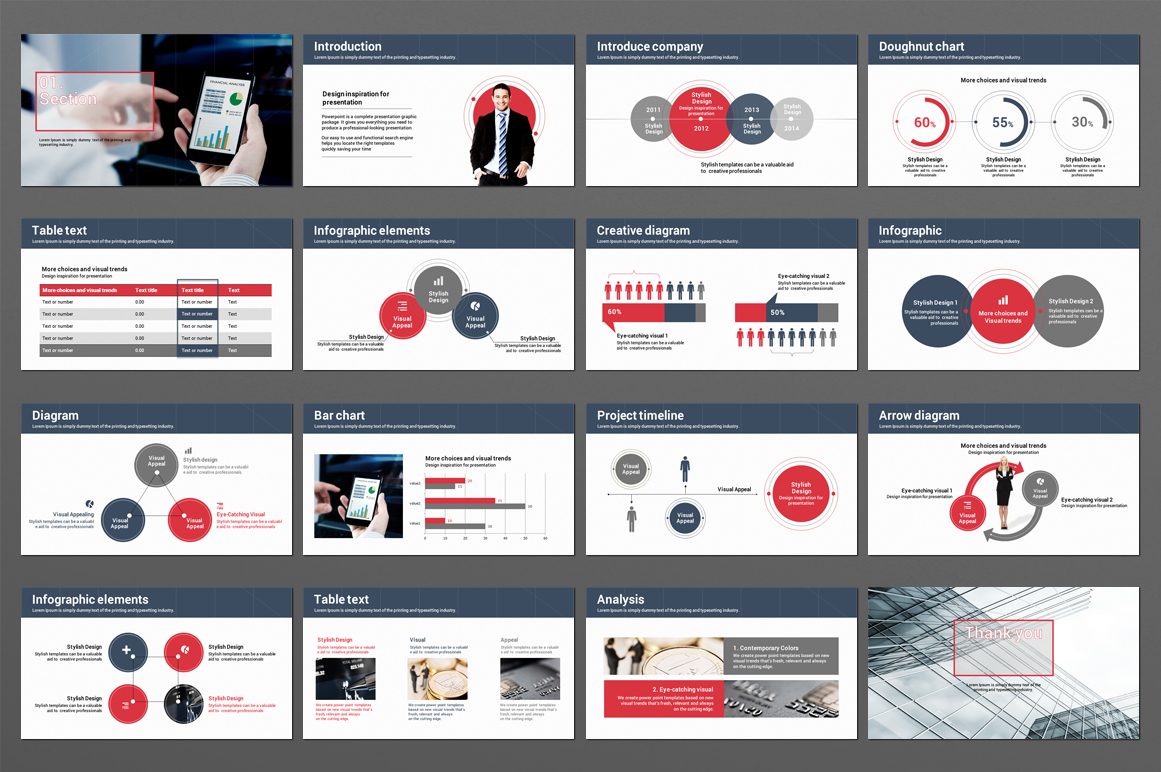 Finance Theme PowerPoint Template example image 4