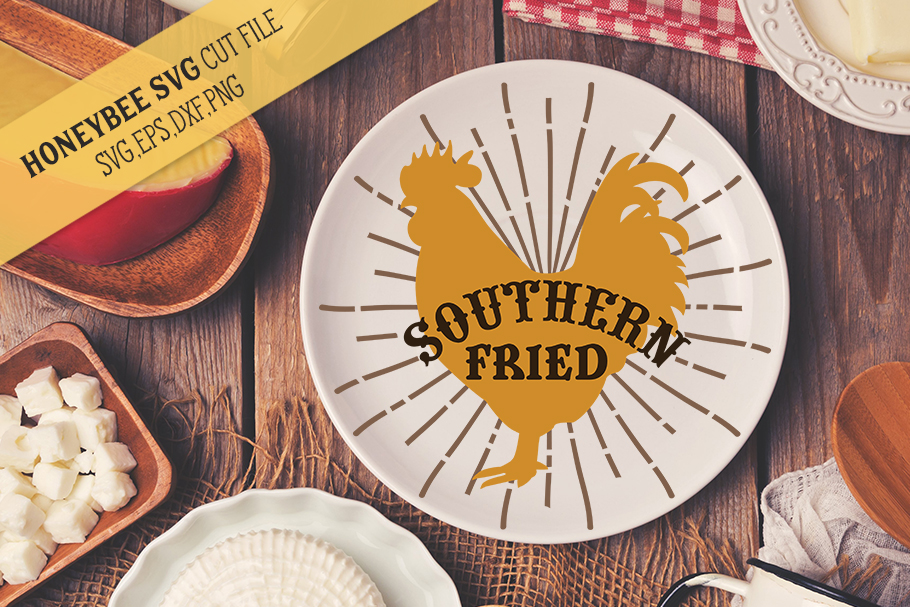 Southern Fried Chicken svg example image 1