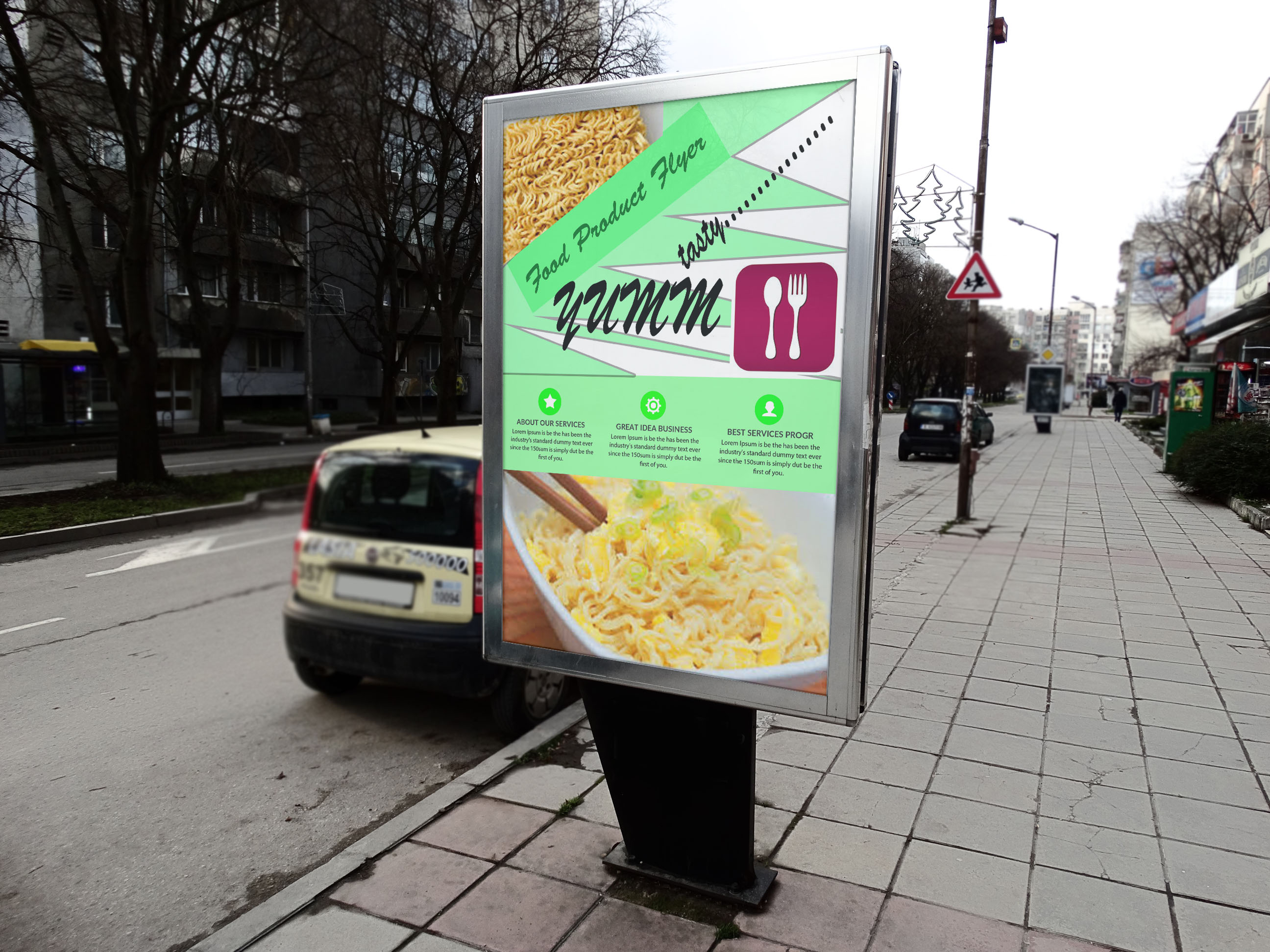Food Product Flyer example image 2