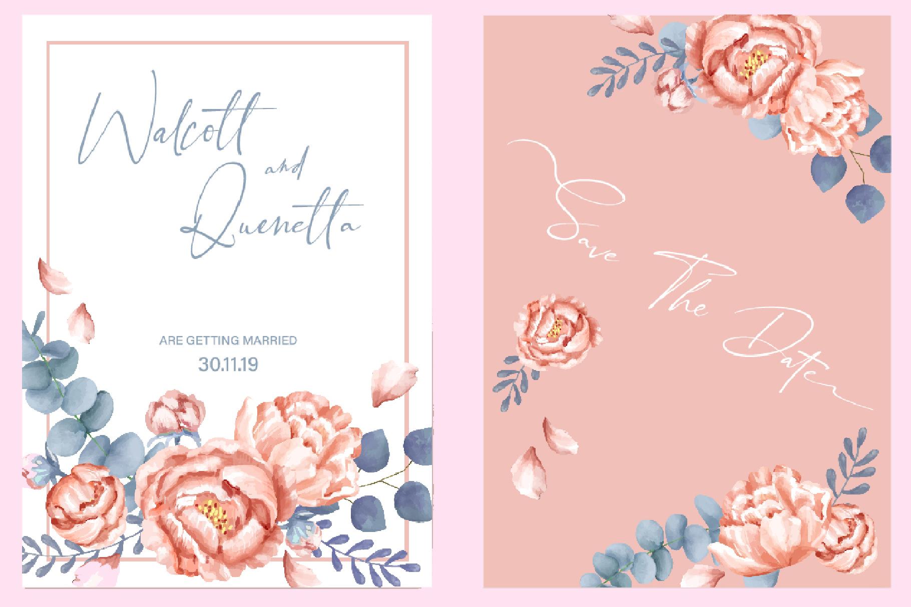 Black Pink Signature example image 4