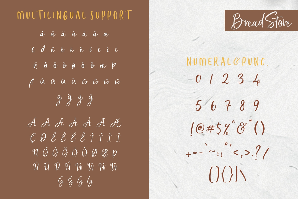 Bread Store Font example image 11
