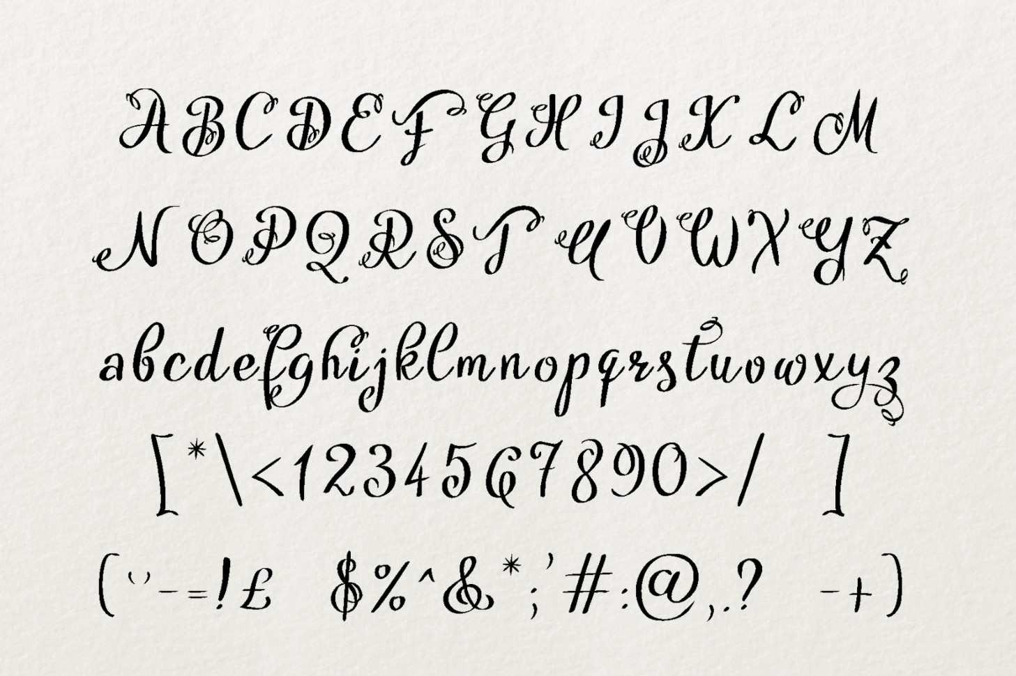 Hytag font example image 2