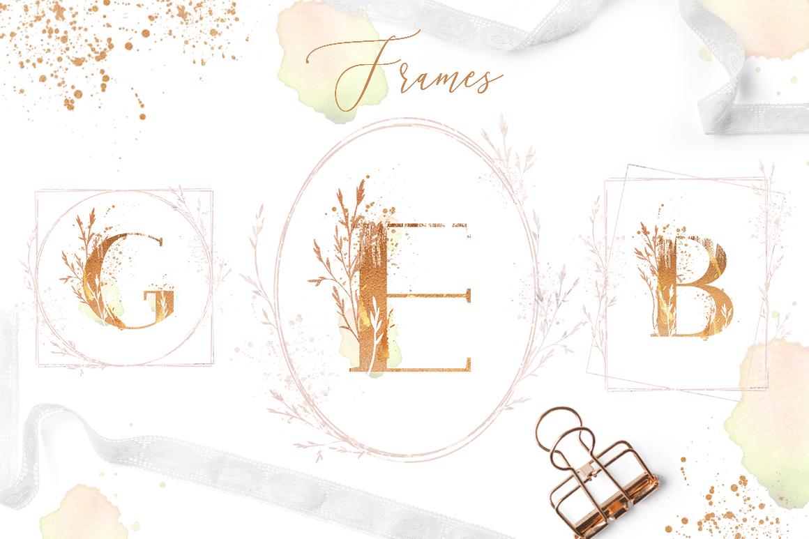 ROSE GOLD WEDDING SET example image 13