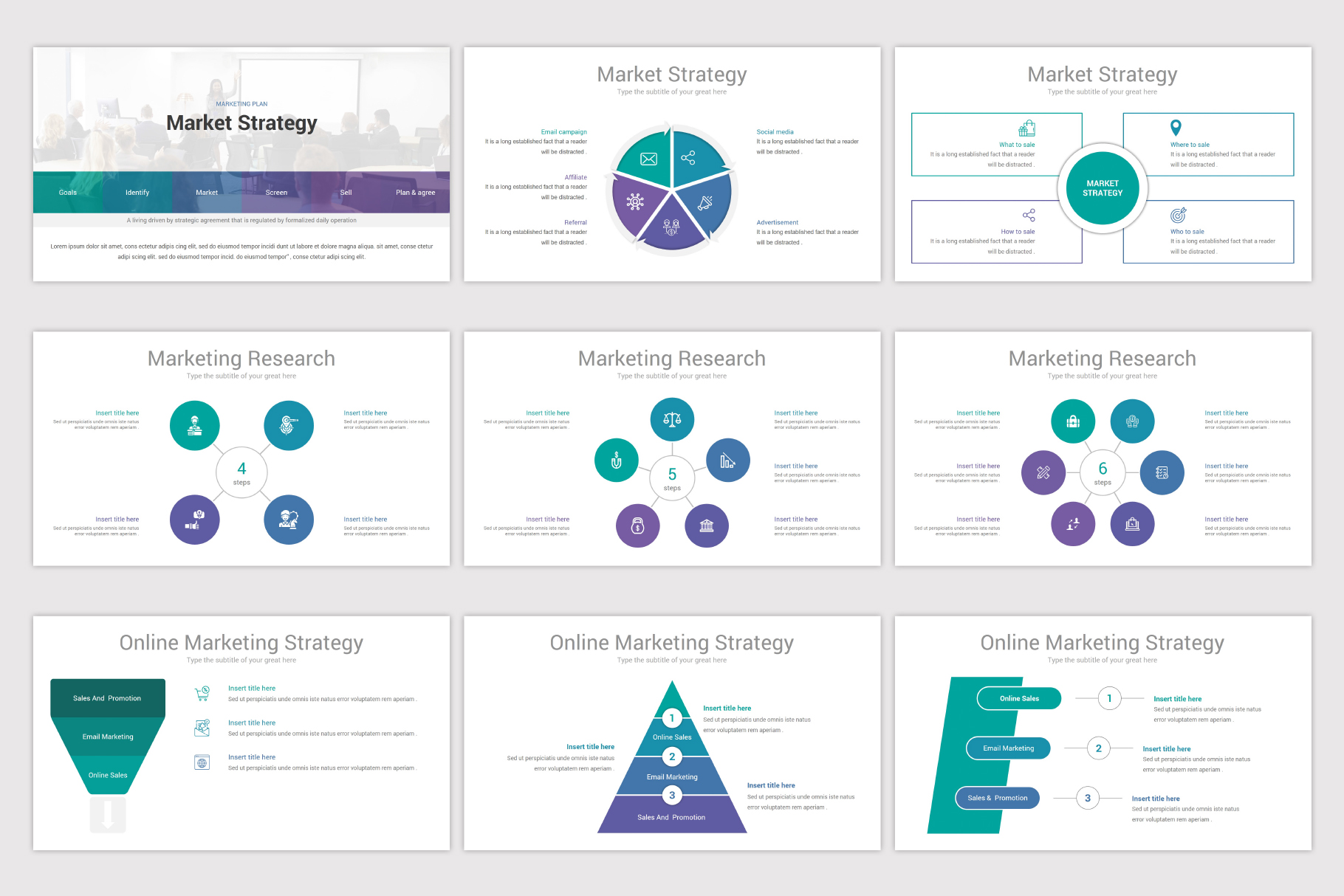 Business Plan Keynote Template example image 12