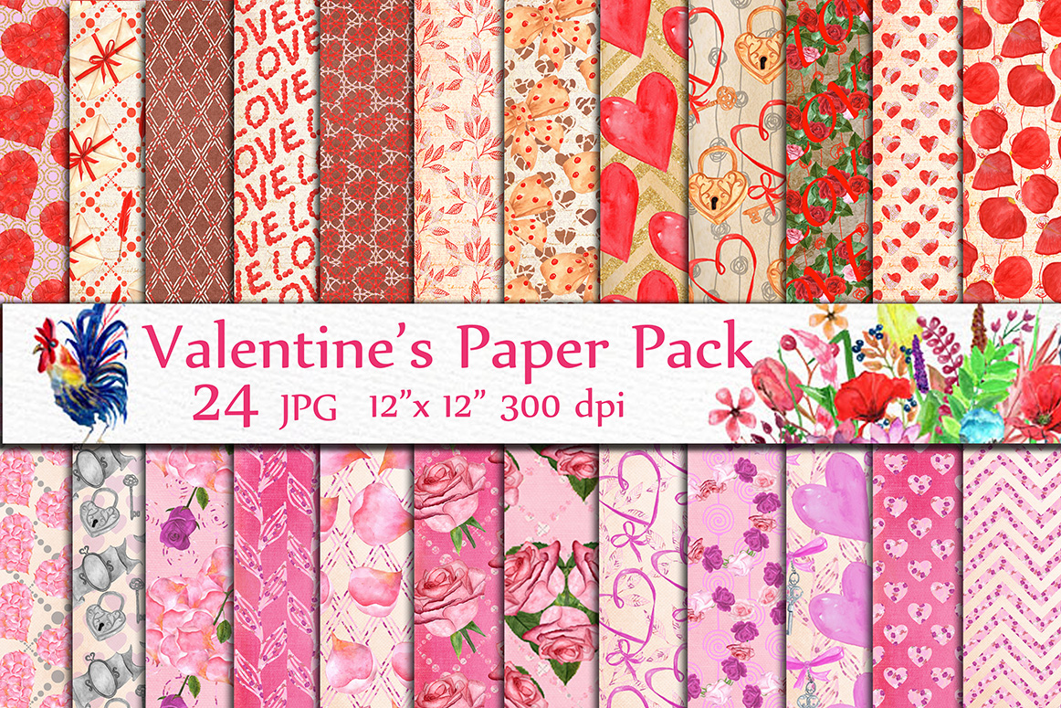 BUNDLE-Valentine's Day clipart example image 2