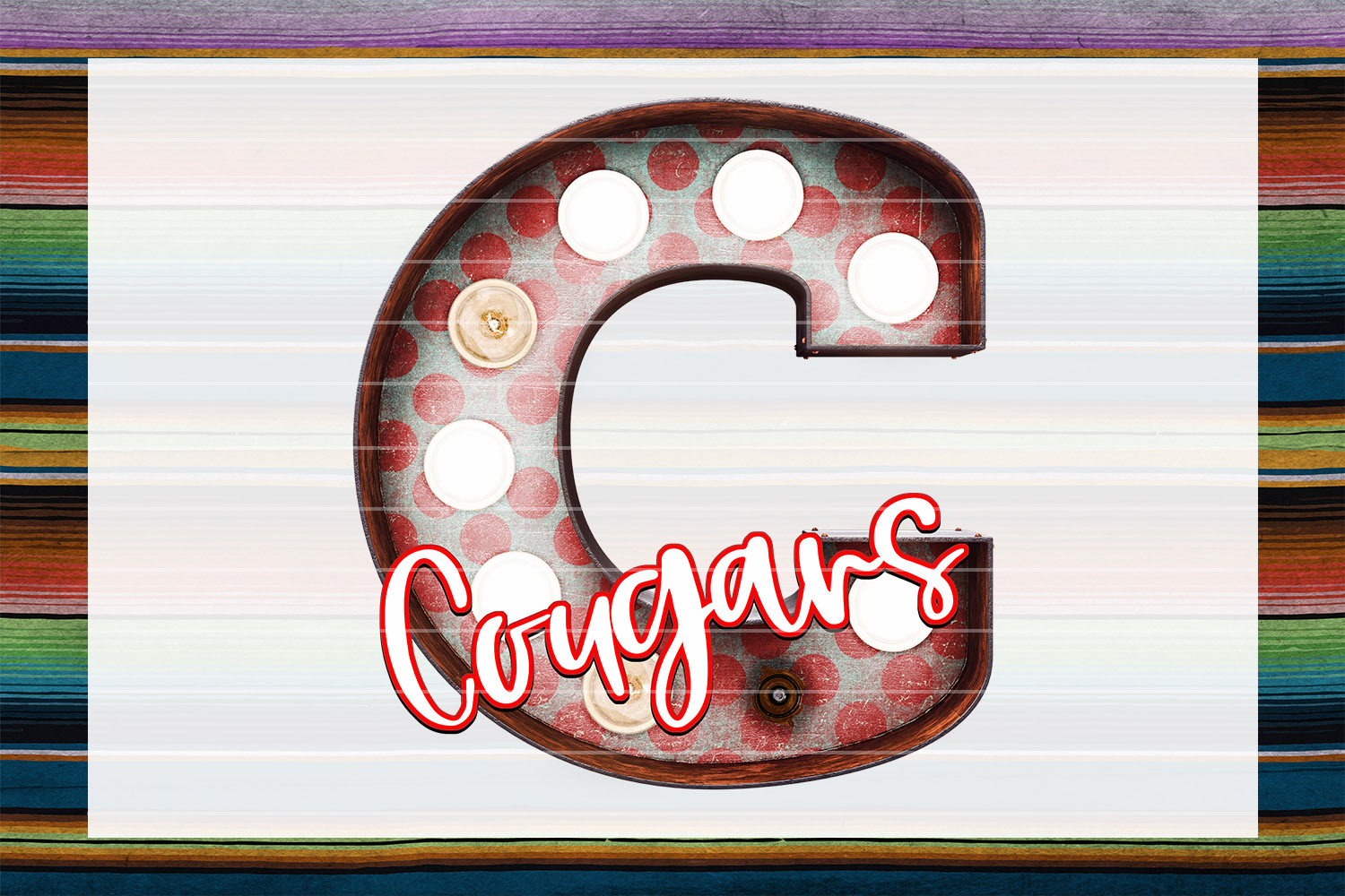 Cougars Marquee Bundle example image 6