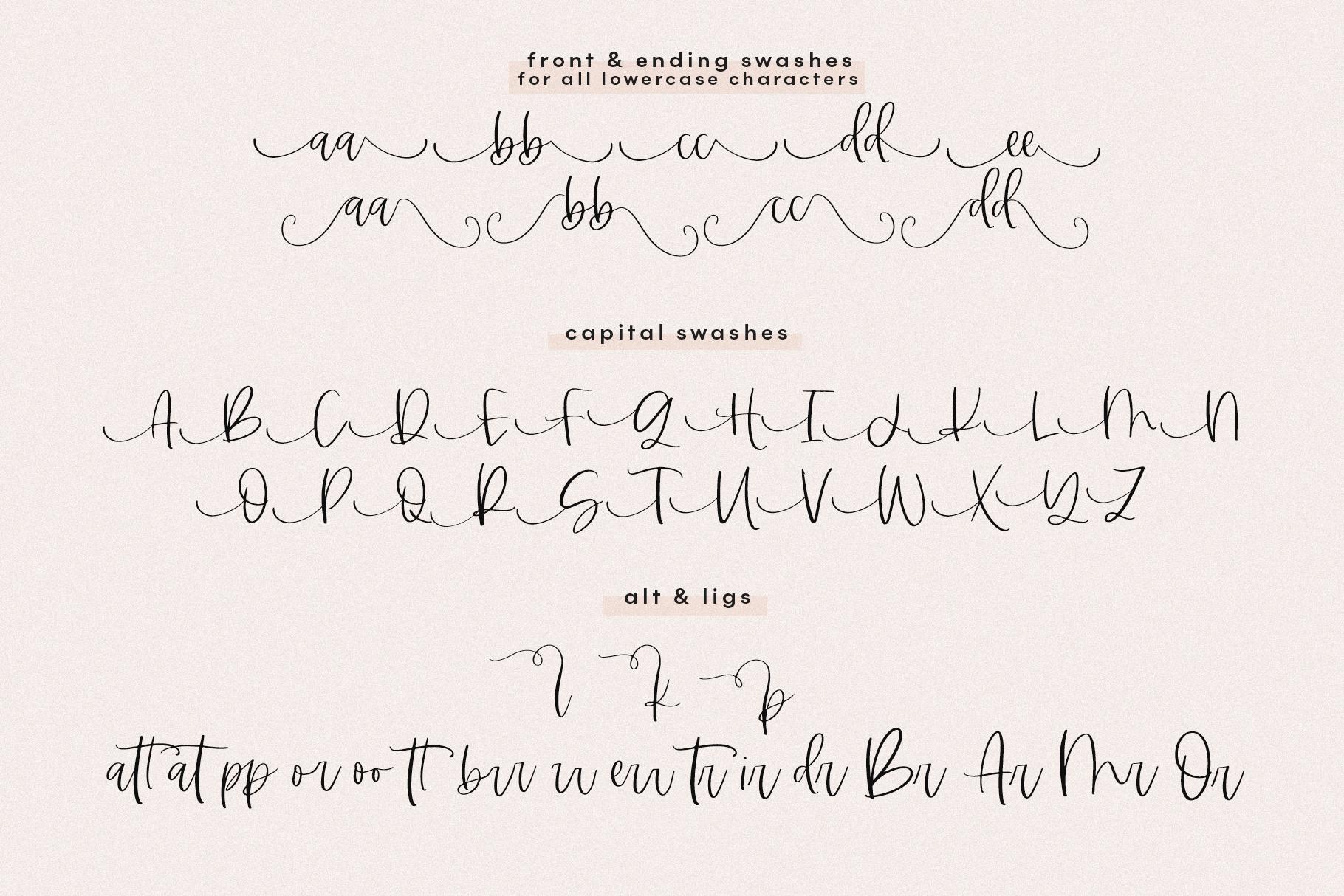 Midnight - Handwritten Script Font example image 20