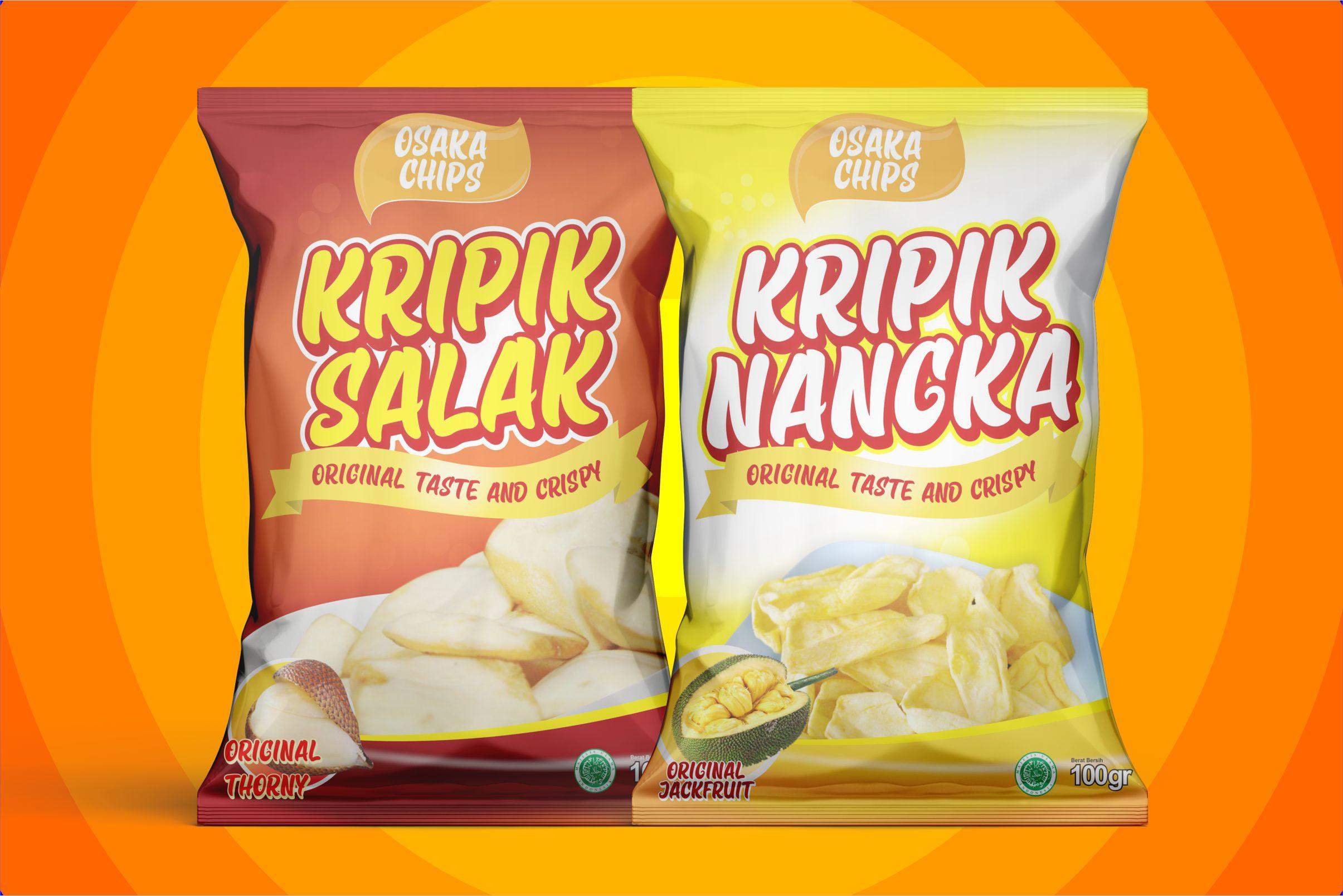 "Osaka Chips ""Fun Font"" example image 2"