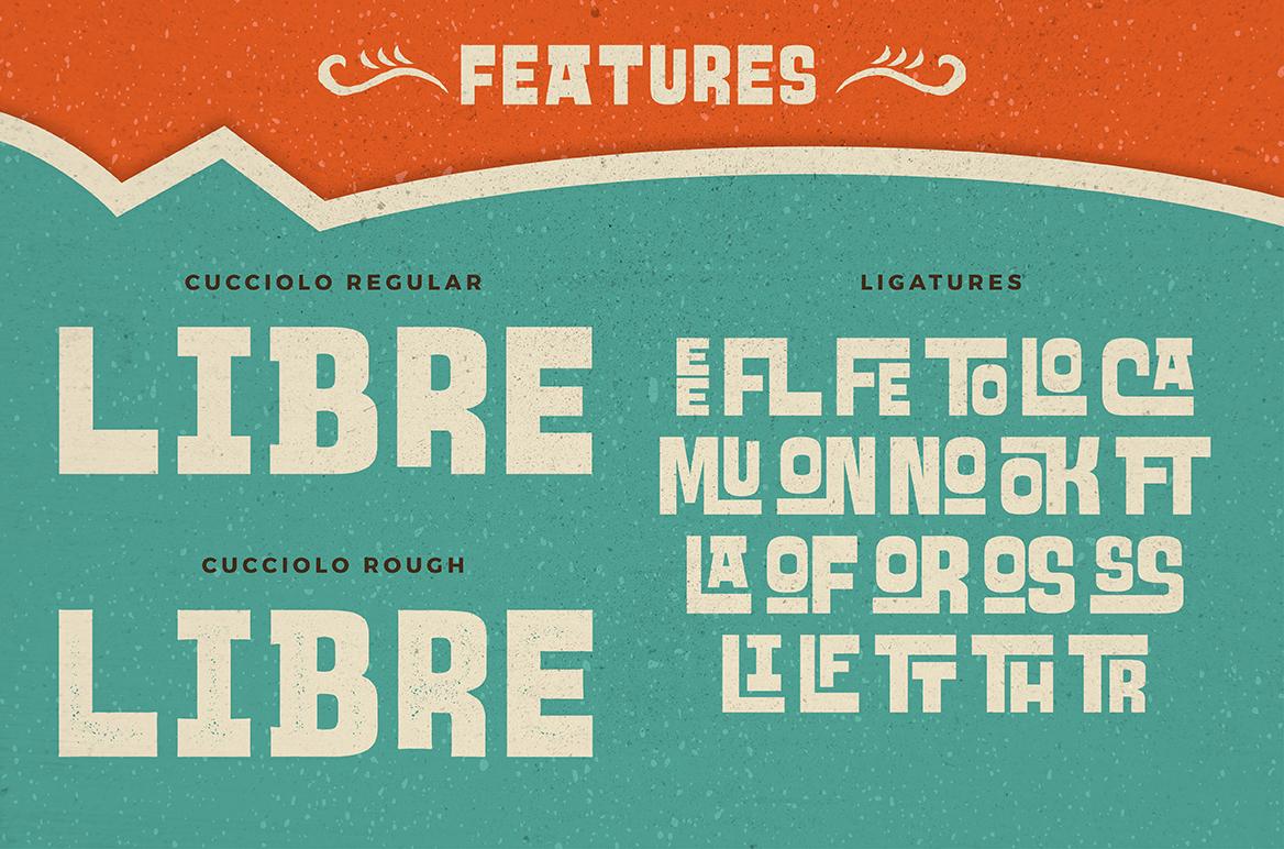 Cucciolo Typeface + Extras example image 2