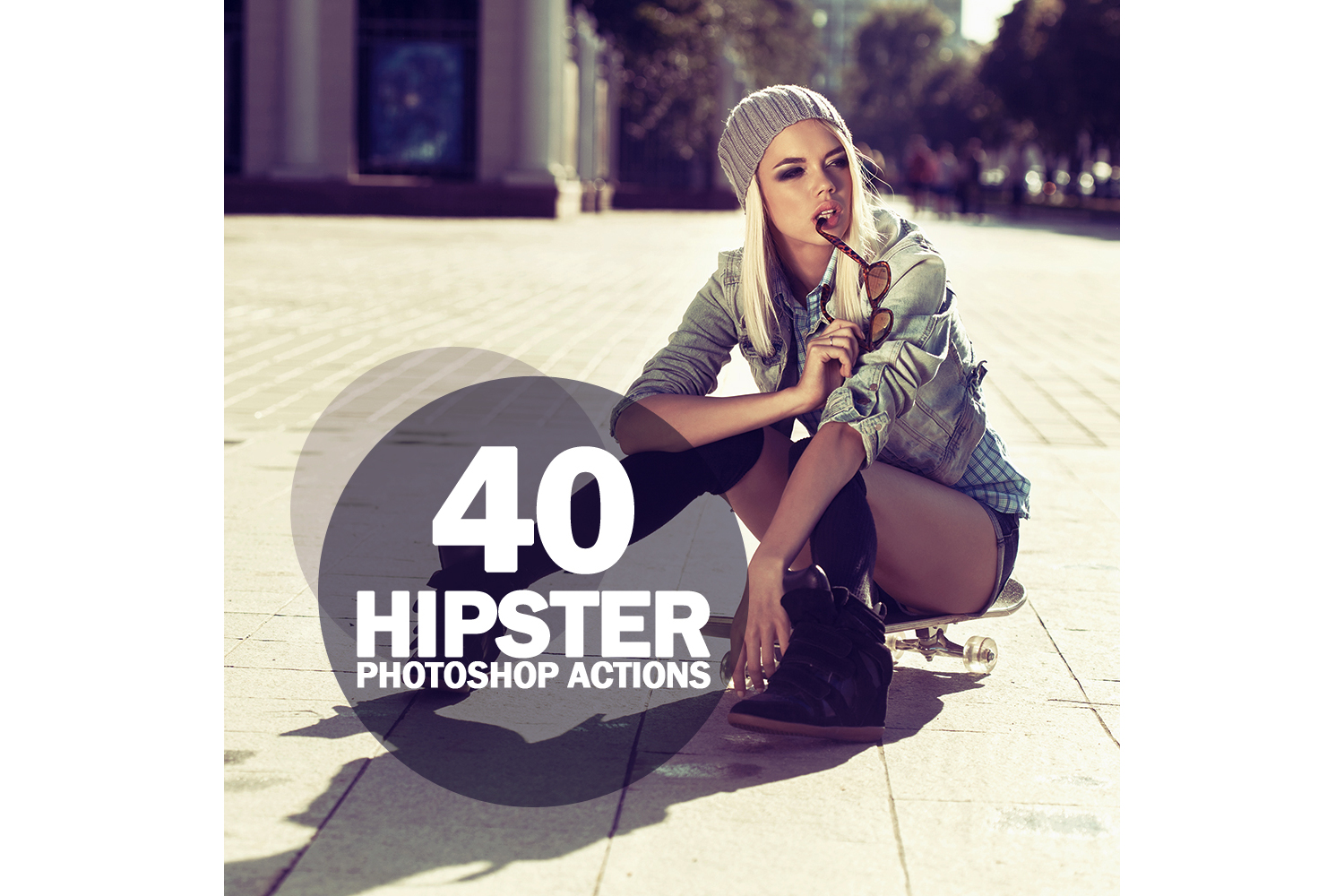 40 Hipster Photoshop Actions Collection (Action for photoshop CS5,CS6,CC) example image 1