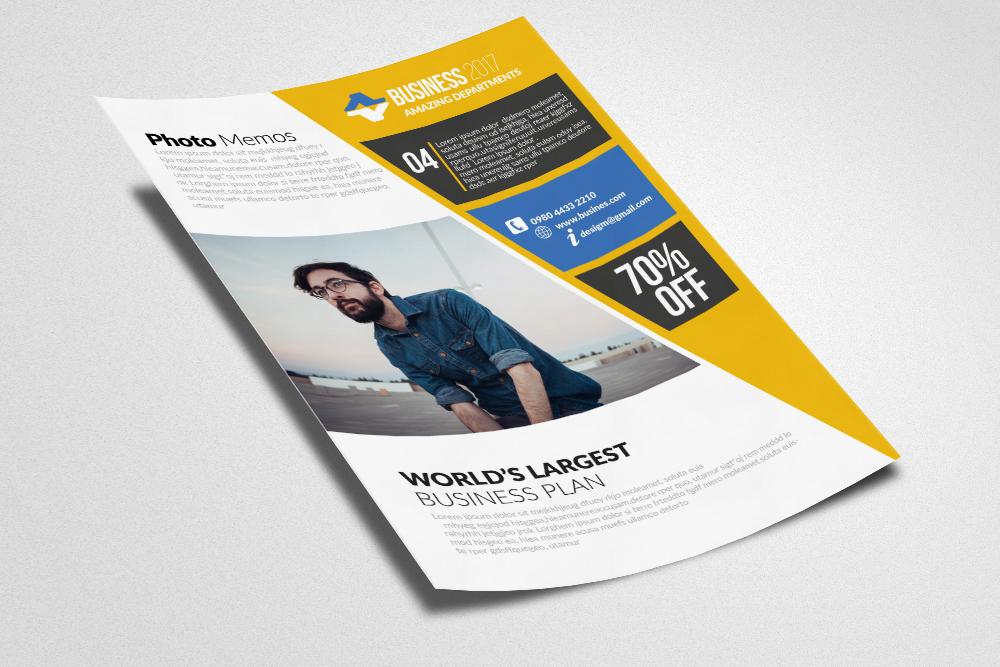 Job Expo & Career Fair Flyer Templates example image 2