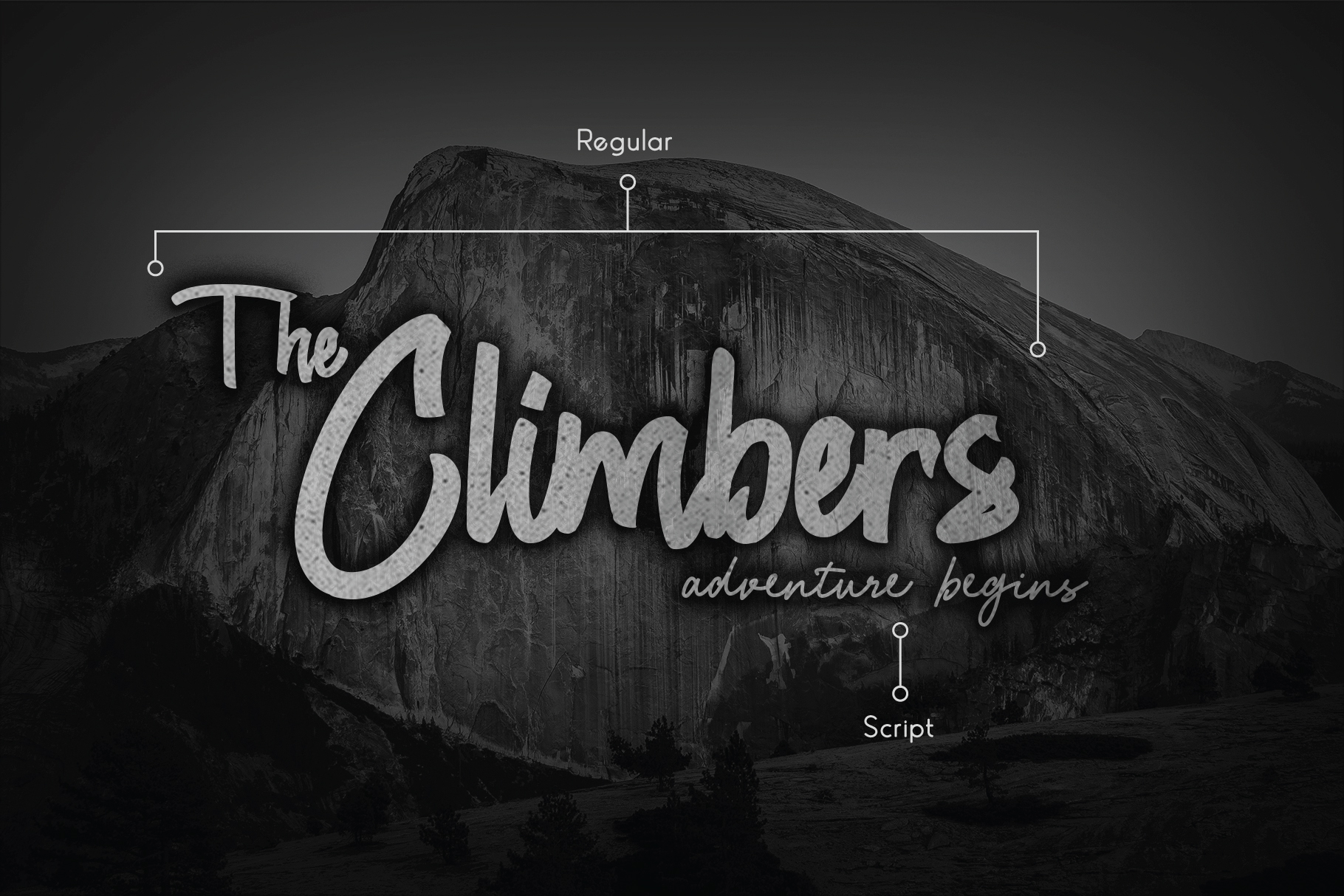 Chagack Script Font Duo example image 4