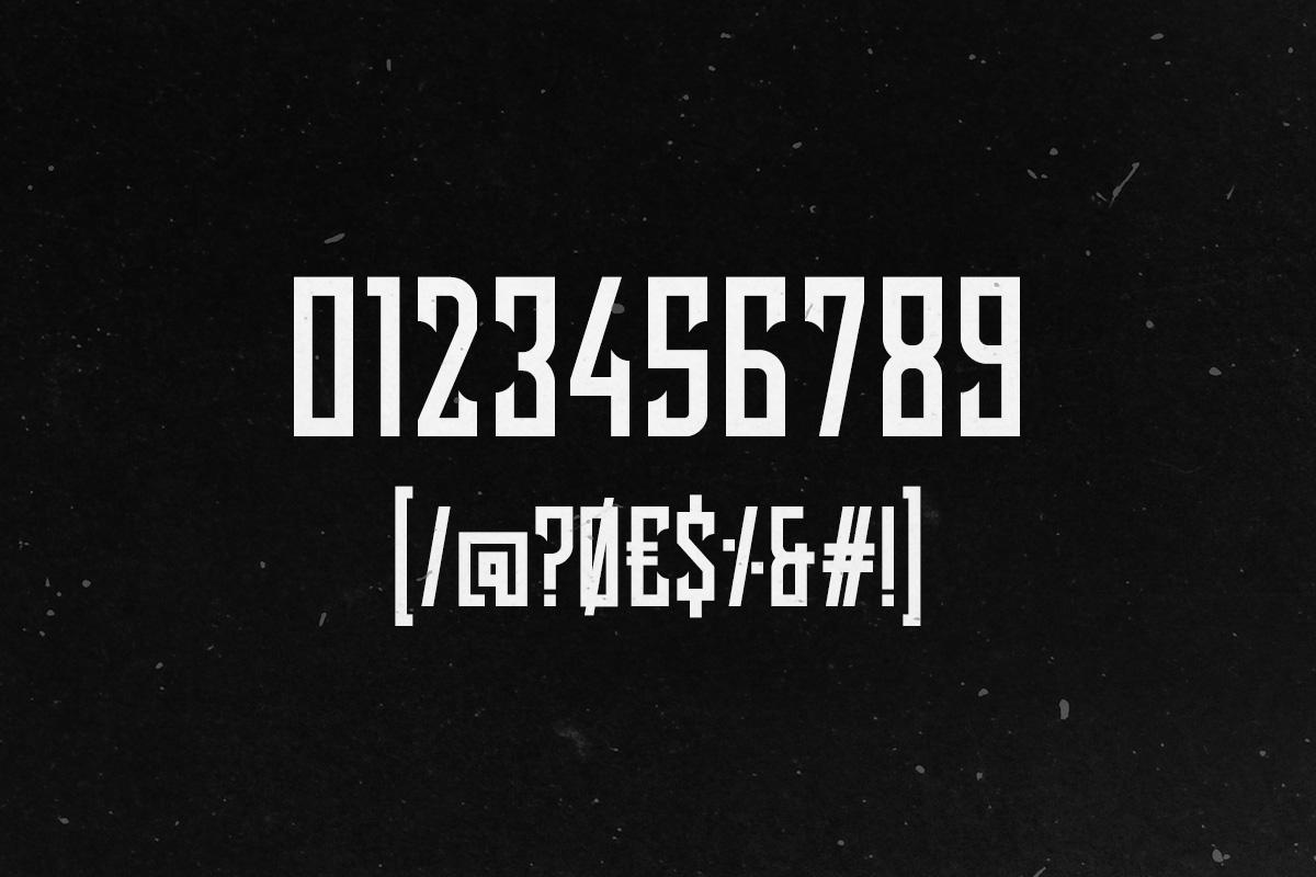Lash Typeface example image 8