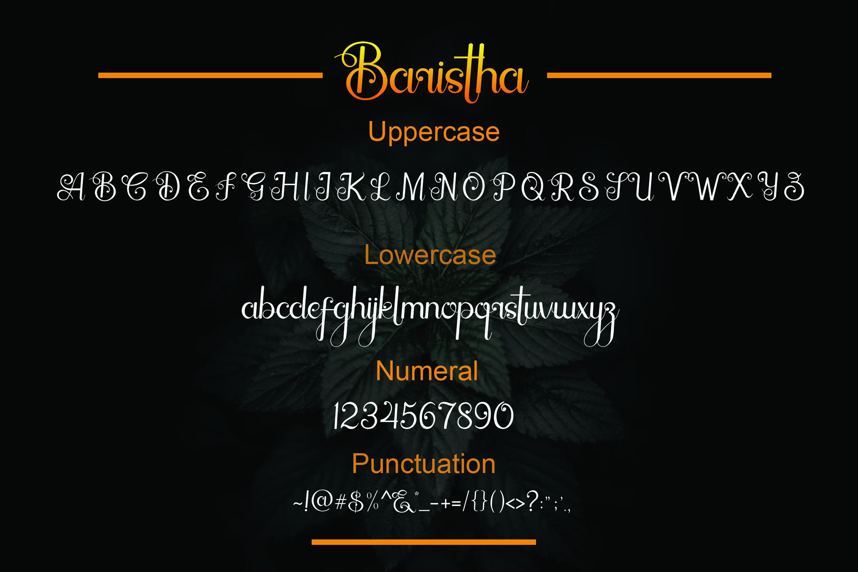 Baristha example image 4