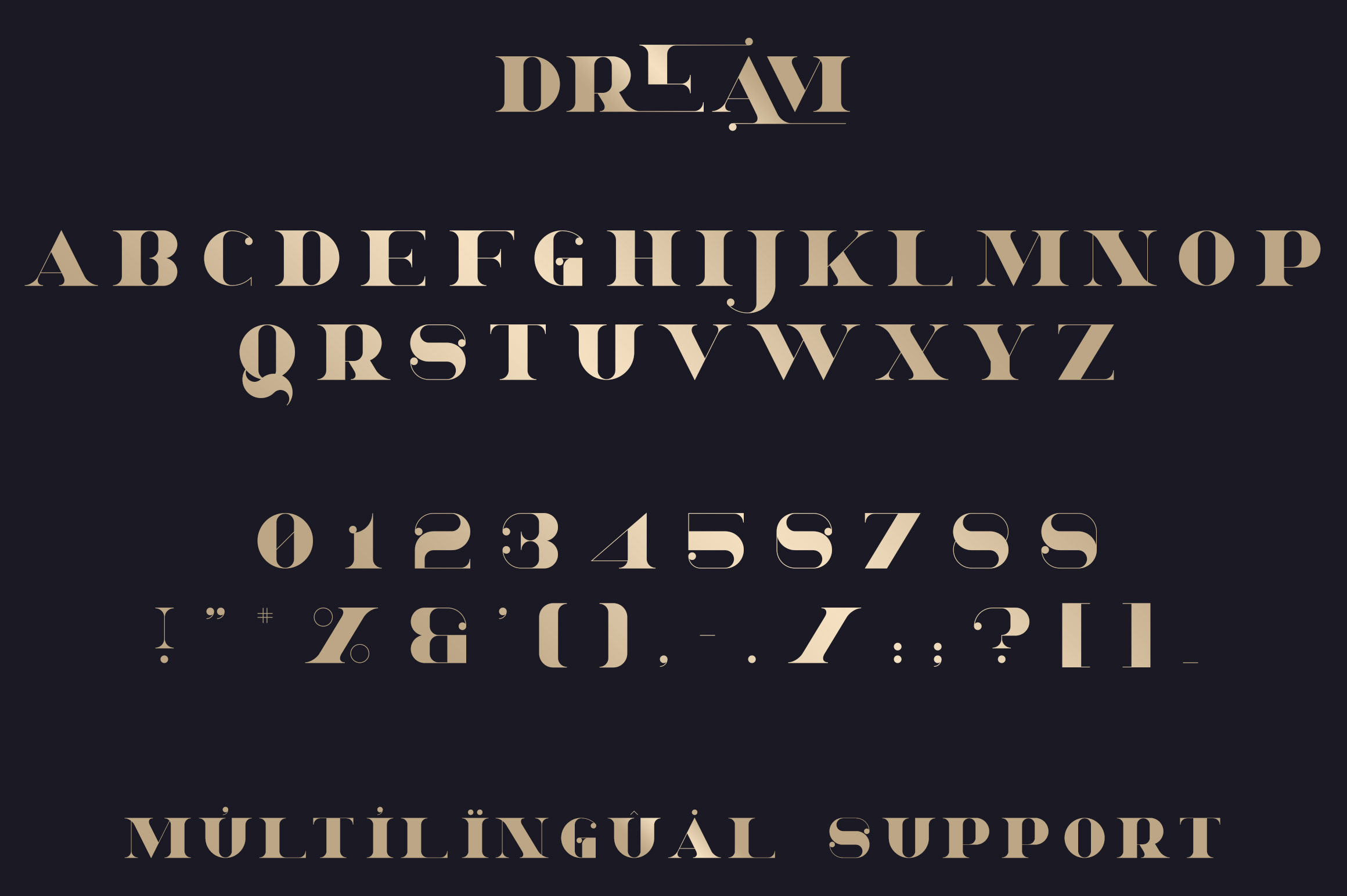 Dream - Magical Serif Font example image 8