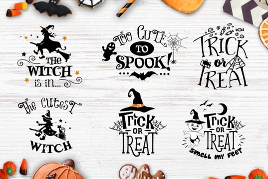 Halloween bundle 40 SVG , Eps, Dxf, Png for Cricu example image 5