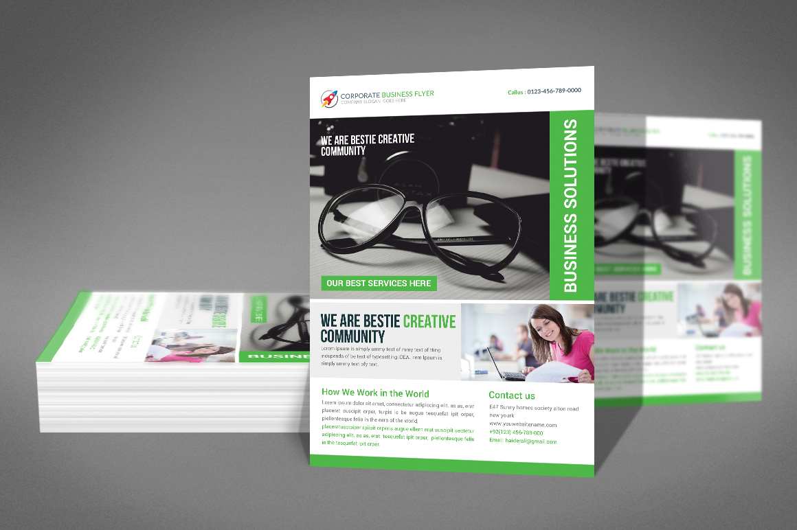 Corporate Business Flyer Template example image 2