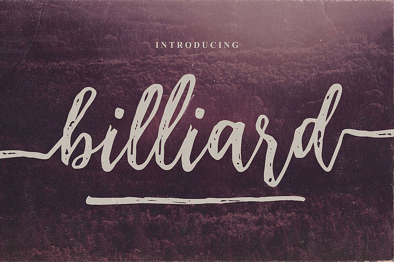 Billiard Font Duo example image 6