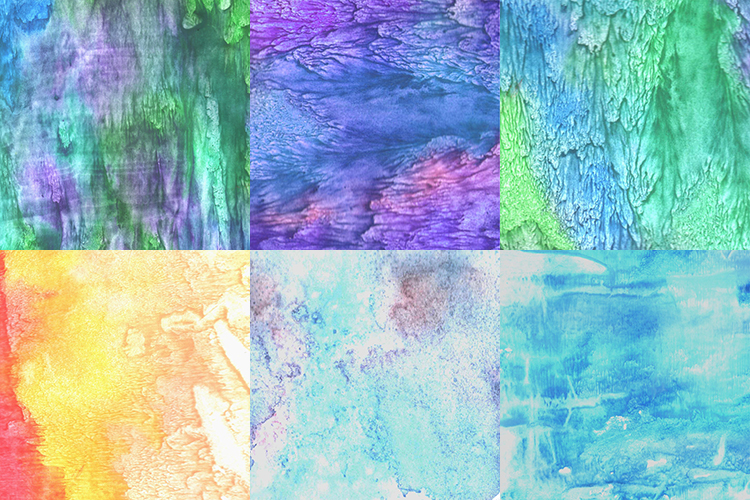 Bright watercolor texture. example image 4