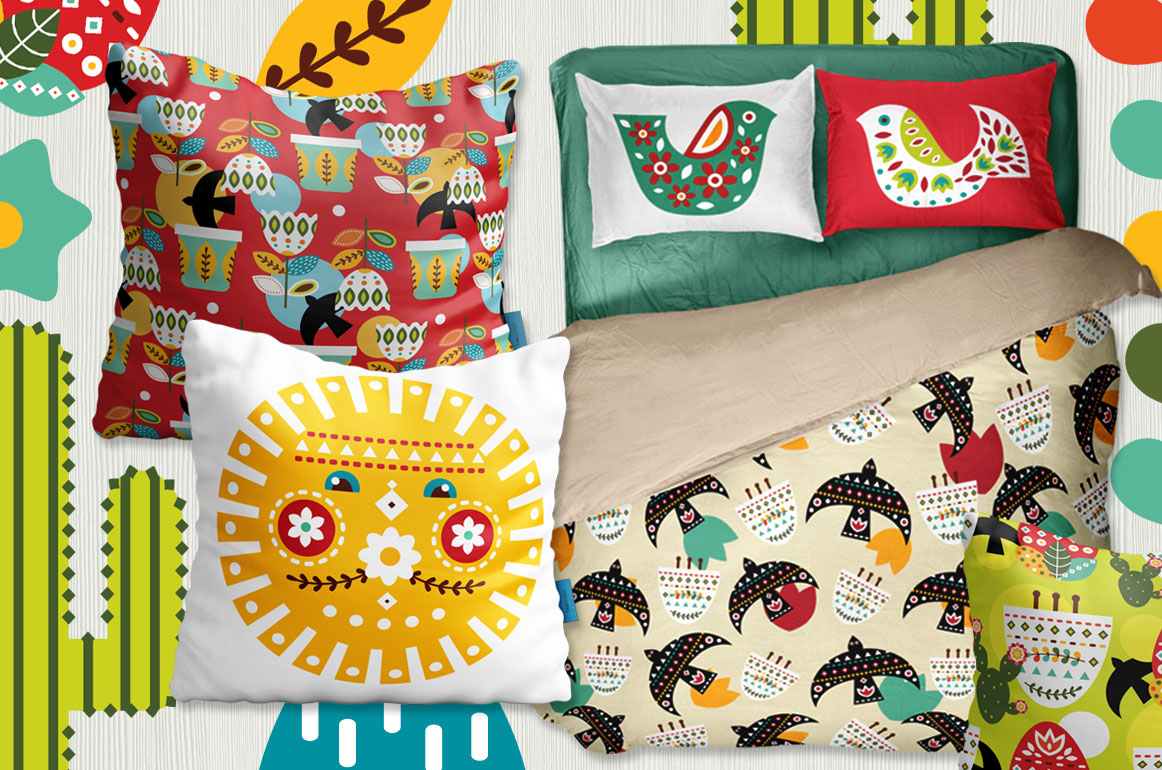 Frida - Mexican folk kit example image 6