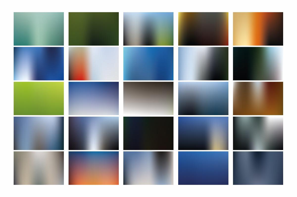 Premium Blur Backgrounds bundle example image 2