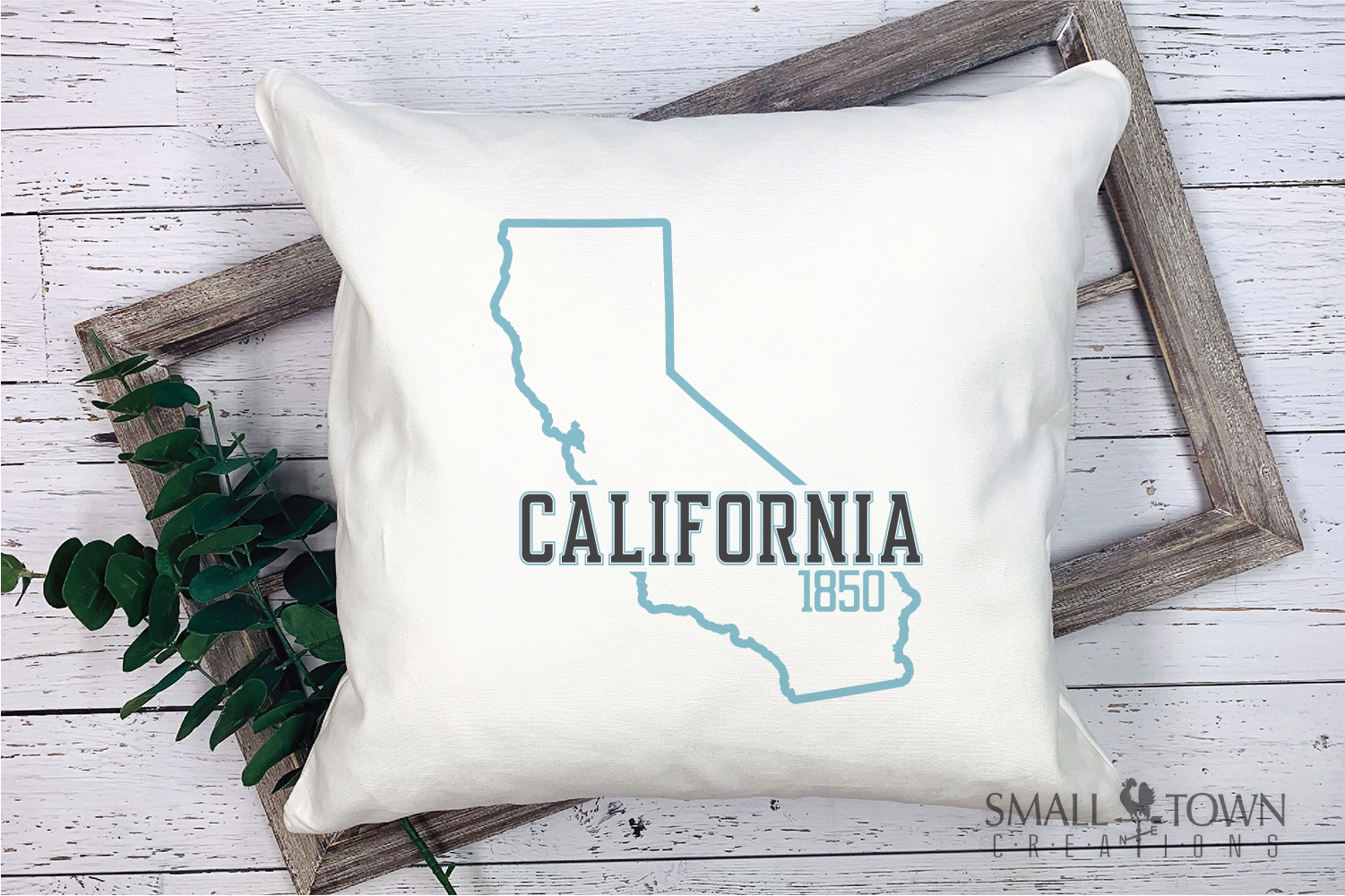California, The Golden State, Logo, PRINT, CUT & DESIGN example image 7