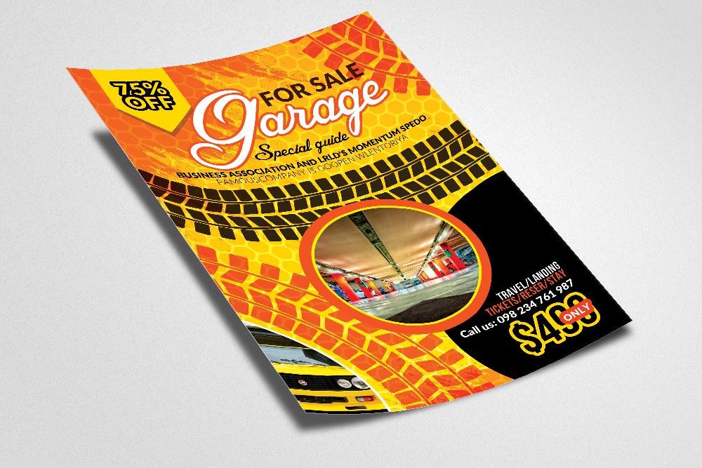 Garage Sale Flyer example image 2