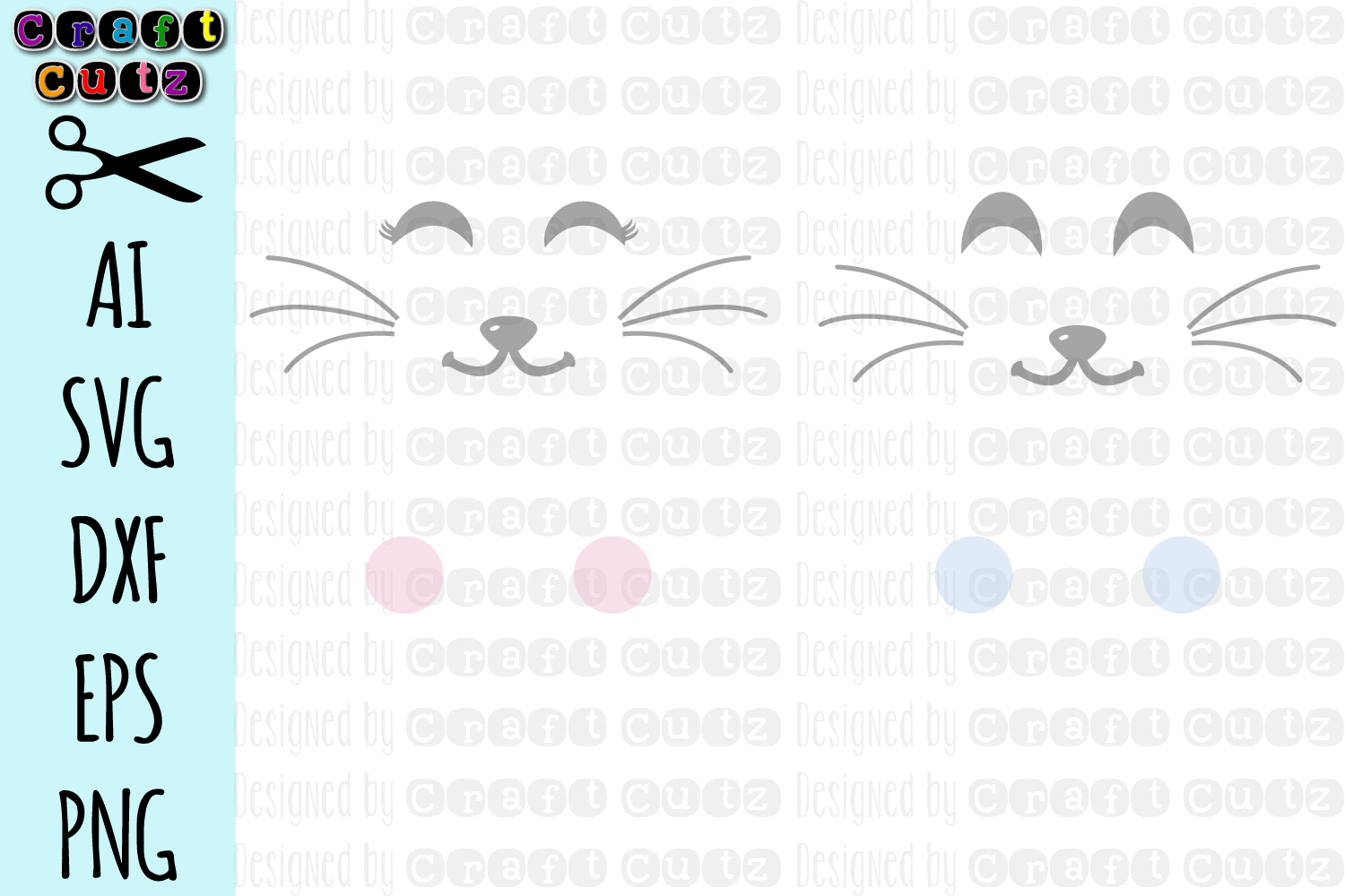 Bunny Bag svg, Cute Bunny Face svg, Rabbit Face SVG example image 1