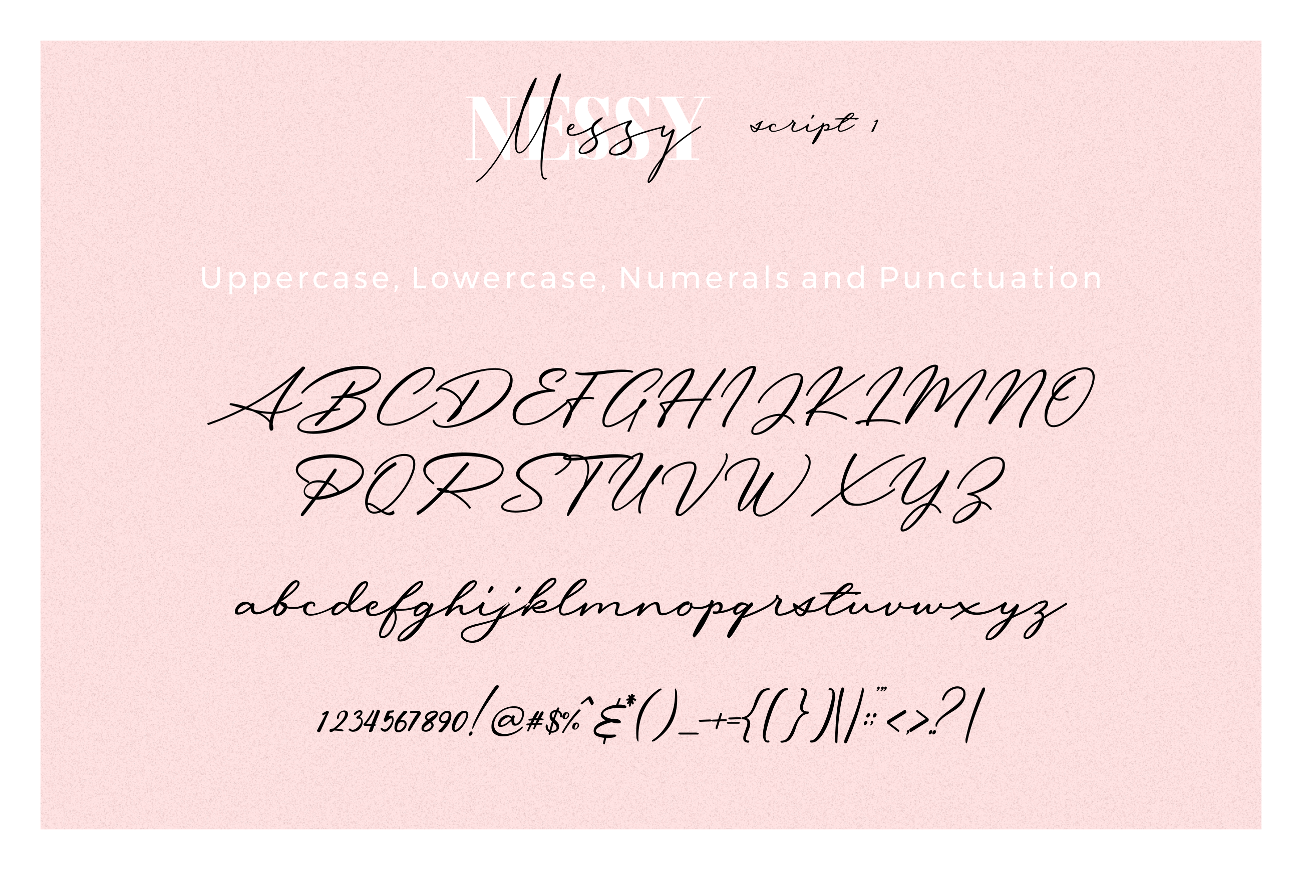 3 FONT | Messy Nessy example image 13