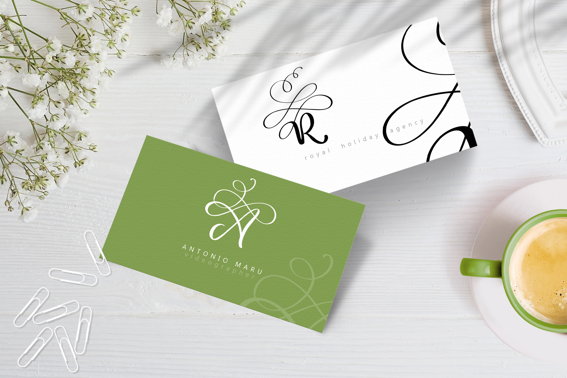 Love Story Monogram Font example image 10