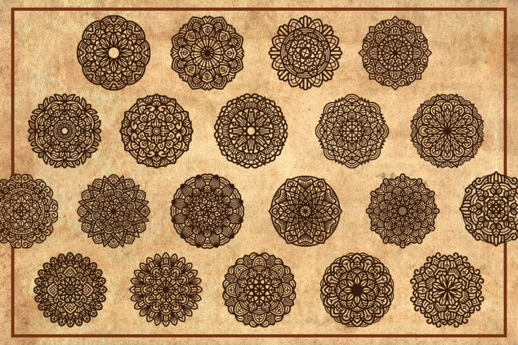 Mandala (Contemporary Style) Vol. II example image 5
