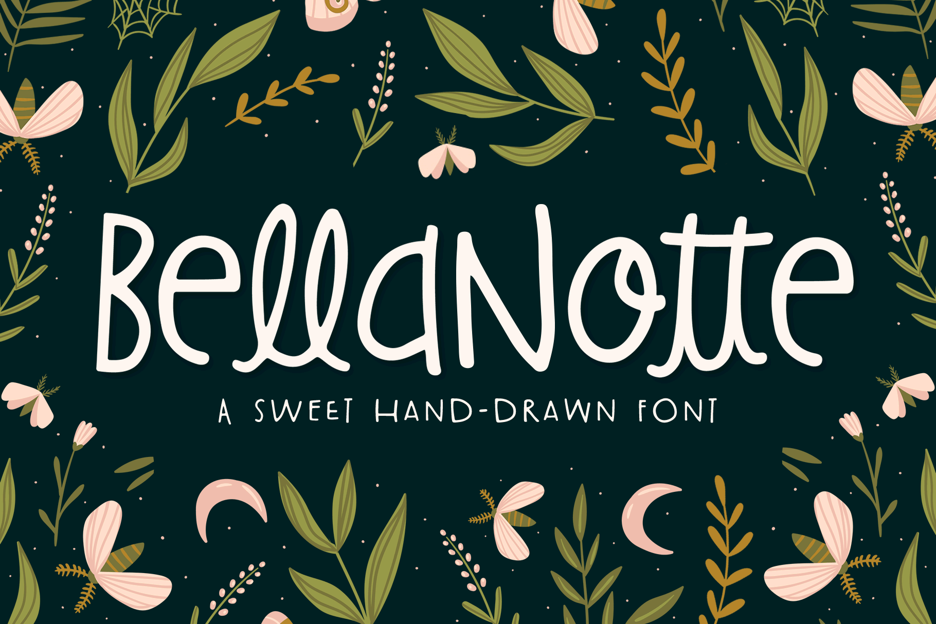 BellaNotte Font example image 1
