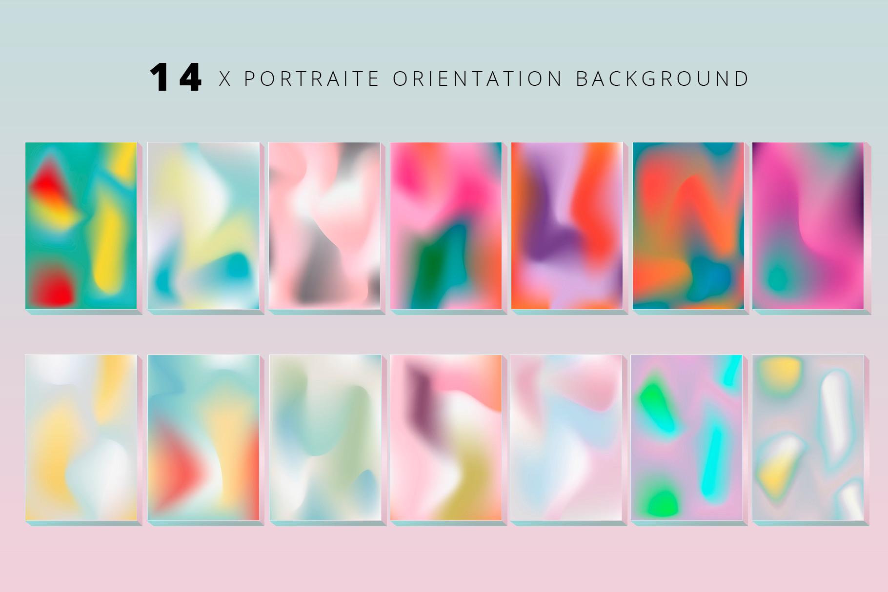 Holographic backgrounds and shapes example image 2