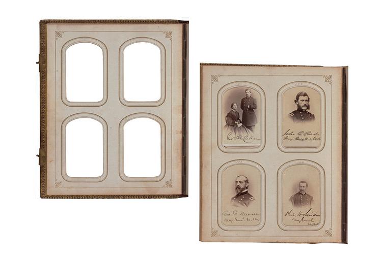Victorian Era Antique Album Pages Photos Frames - Scrapbook example image 2